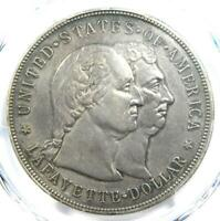 1900 LAFAYETTE SILVER DOLLAR $1 - PCGS EXTRA FINE  DETAILS EF -  CERTIFIED COIN