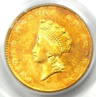 1855 TYPE 2 INDIAN GOLD DOLLAR  G$1 COIN    CERTIFIED PCGS XF45  EF45