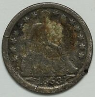 1853 SEATED LIBERTY SILVER DIME