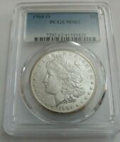 1904-O MORGAN DOLLAR PCGS GRADED MINT STATE 63GREAT LOOKING COIN