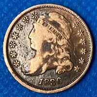 1836 CAPPED BUST DIME VERY NICE HIGHER GRADE