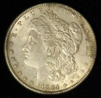 1884 $1 MORGAN SILVER DOLLAR - SHIPS FREE USA