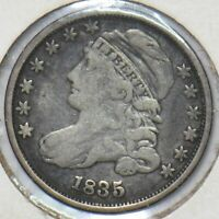 1835 CAPPED BUST DIME 100132  SFCOIN
