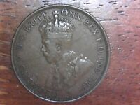 1924 AUSTRALIA ONE PENNY IN CIRCULATED COND. FOREIGN WORID W