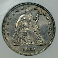 1860 H10 TRANSITIONAL NGC MINT STATE 63