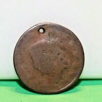 1819 US LARGE CENT  BETTER DATE HOLE