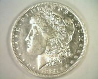 1882-O/S MORGAN SILVER DOLLAR TOP 100 VAM 4 O/S RECESSED ABOUT UNCIRCULATED AU