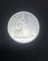 1859 O SEATED LIBERTY HALF DOLLAR. NEW ORLEANS MINT   VERY B