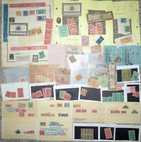 COLLECTION OF REVENUE AND TAXPAID STAMPS