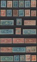COLLECTION OF REVENUE STAMPS