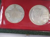1972 HUNGARY UNCIRCULATED SILVER COIN SET