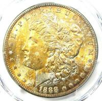 1888-S MORGAN SILVER DOLLAR $1 COIN -  - PCGS UNCIRCULATED DETAILS UNC MS