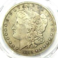 1895-S MORGAN SILVER DOLLAR $1 COIN - CERTIFIED PCGS VF DETAILS -  COIN