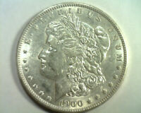 1900 HOT 50 VAM16A MPD DOUBLE OLIVE PITTED MORGAN DOLLAR CH. ABOUT UNCIRCULATED