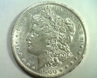 1900 HOT 50 VAM16A MPD DOUBLE OLIVE PITTED MORGAN DOLLAR ABOUT UNCIRCULATED AU