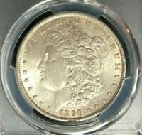 1896 MORGAN SILVER DOLLAR  PCGS MINT STATE 62 BEAUTIFUL COIN REF9879