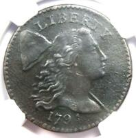 1794 LIBERTY CAP LARGE CENT 1C S-54 COIN - CERTIFIED NGC AU DETAILS -  COIN
