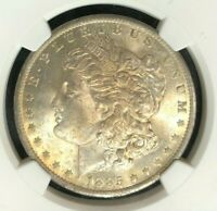 1885-O MORGAN SILVER DOLLAR  NGC MINT STATE 64 BEAUTIFUL COIN REF03-016
