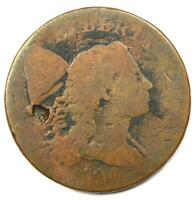 1794 LIBERTY CAP LARGE CENT 1C COIN -  EARLY COIN