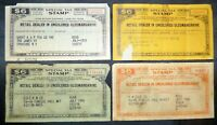 SPECIAL TAX STAMPS RETAIL DEALER IN UNCOLORED OLEOMARGARINE