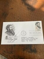 8 CENT SIDNEY LANIER FIRST DAY COVER AMERICAN POET SERIES NU