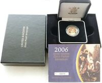2006 ROYAL MINT ST GEORGE AND THE DRAGON GOLD PROOF FULL SOV