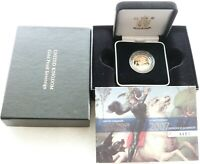 2007 ROYAL MINT ST GEORGE AND THE DRAGON GOLD PROOF FULL SOV