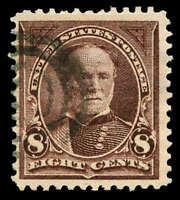 MOMEN: US STAMPS 272A USED PF CERT SOUND