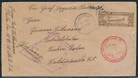 C14 MAY 31 1933 ZEPPELIN FIRST FLIGHT COVER USA TO GERMANY BR2086