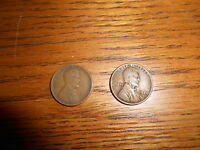 2   1922 D 1C BN LINCOLN CENTS 2 COINS.
