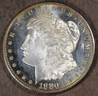 1880 S MORGAN SILVER DOLLAR! ! UNCIRCULATED & FROSTY PROOF LIKE! SD775