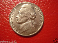 1957 D JEFFERSON NICKEL CIRCULATED  4283