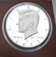 2013 S PROOF KENNEDY CLAD HALF DOLLAR  FREE S&H