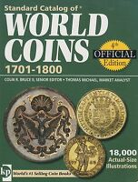 WORLD COIN STANDARD CATALOG 2007,4TH OFFICIAL EDITION 1701 1800 COLIN R.BRUCE