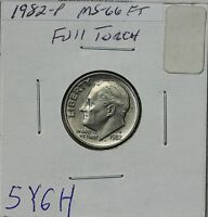 1982 P ROOSEVELT DIME MS FULL TORCH