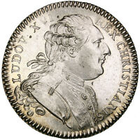 FRANCE ROYAL TOKEN 1784 MS63 SILVER FEUARDENT 8789 6.55