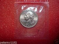 1993 D  WASHINGTON QUARTER UNCIRCULATED IN MINT CELLO NICE   5787