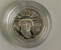 2000 AMERICAN EAGLE TEN DOLLAR PLATINUM COIN PLATINUM 1/10OZ .9995