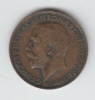 1911 TO 1936 GEORGE V BRONZE FARTHING CHOICE OF DATE FROM 99P