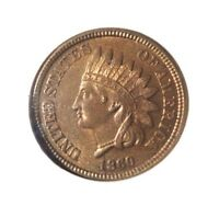 1860 INDIAN HEAD PENNY NGC GRADED MS63