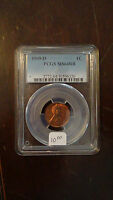 1949 D PCGS MS64RB LINCOLN WHEAT
