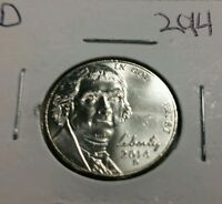 2014 D 5C JEFFERSON NICKEL