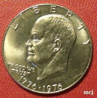 1976 UNCIRCULATED EISENHOWER DOLLAR  MCJ