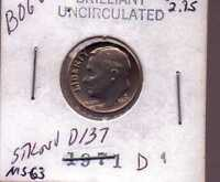 1971 D ROOSEVELT DIME UNCIRCULATED UNITED STATES COIN