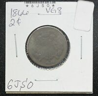 1866 TWO CENT VG