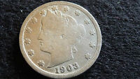 1903-P LIBERTY NICKEL IN GOOD CONDITION E-26-16