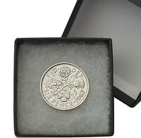 POLISHED SIXPENCES BOXED CHOICE OF YEAR 1928 1967 BIRTHDAY COINS