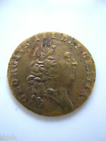 GREAT BRITAIN. GEORGE III BRASS SPADE GUINEA TOKEN 1790