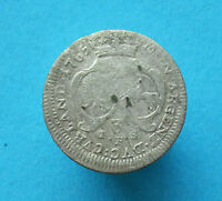 POLAND SILVER COIN 3 GROSH. DURING THE REIGN OF ERNST JOHANN BIRON 1763 1769