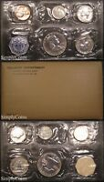 1956 PROOF SET   FLAT PACK ORIGINAL ENVELOPE   US SILVER MINT COIN SET